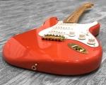 Red Fender Stratocaster