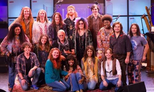 Cast and crew of 'A Night with Janis Joplin' (2017)